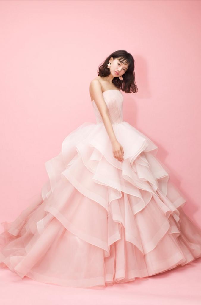 ピンクドレス