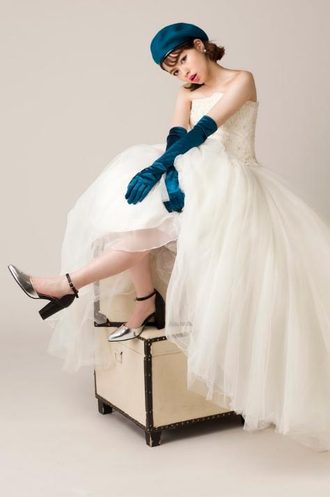 成人ドレス写真