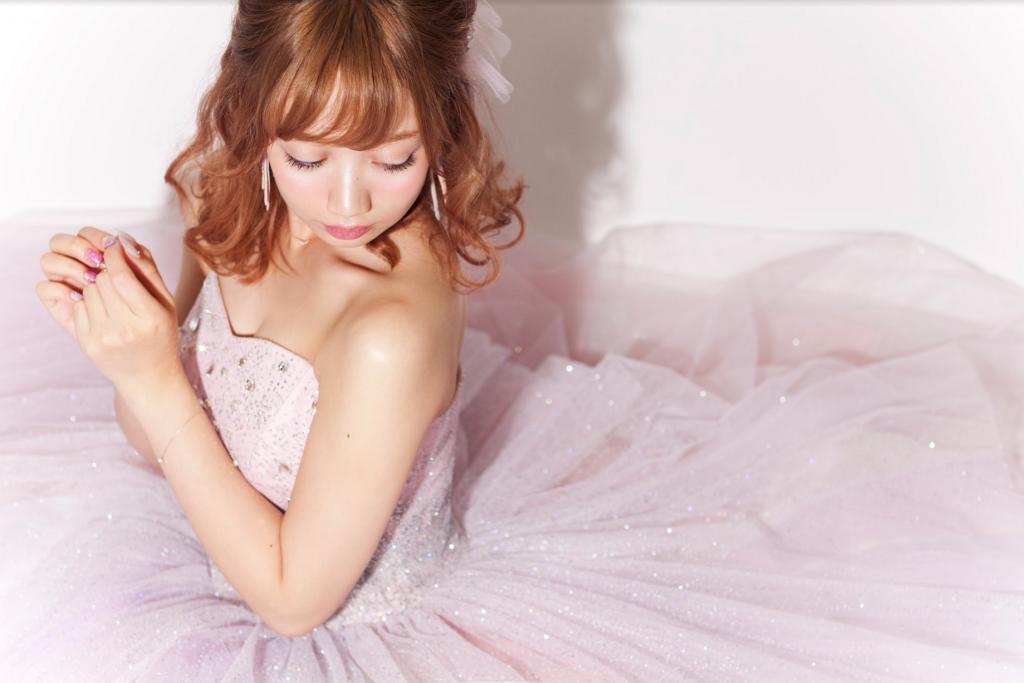 aimme×織田エリカちゃん White dress