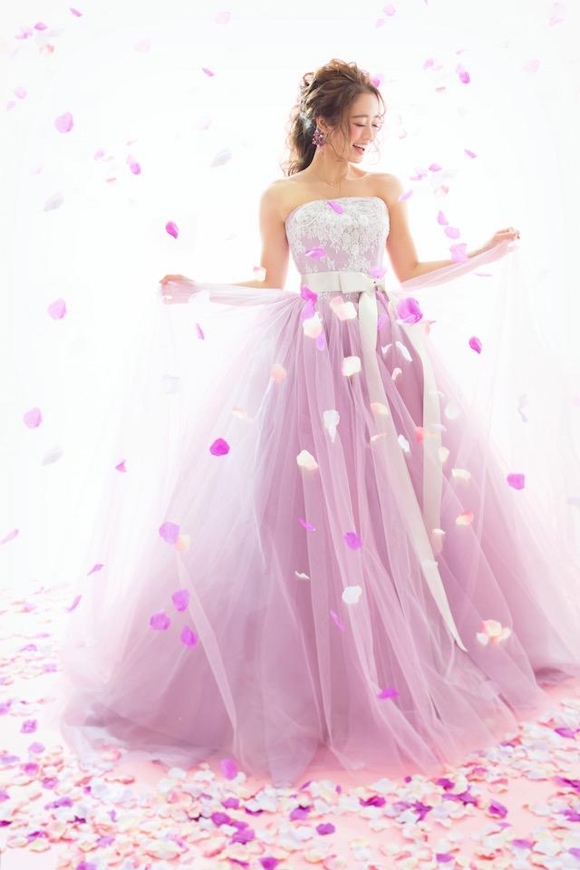 成人 前撮り ドレス